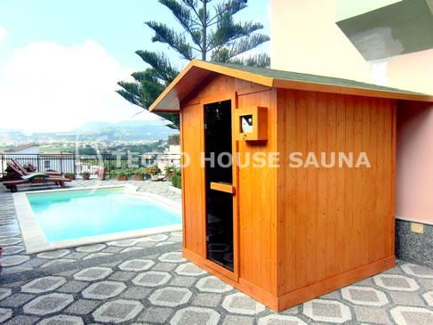 Sauna da esterno - Tecno House Sauna