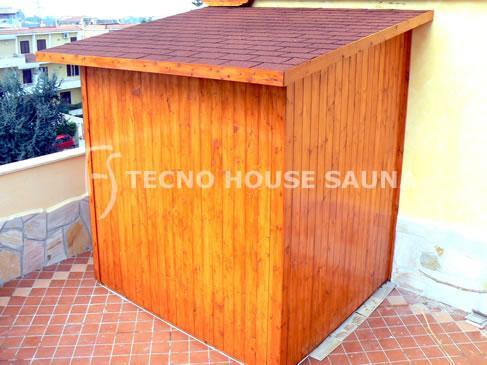 Sauna da esterno tecno house sauna - Sauna da esterno ...
