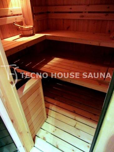 Sauna in casa tecno house sauna for Costruire una sauna in casa